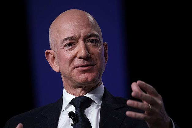 O CEO da Amazon, Jeff Bezos