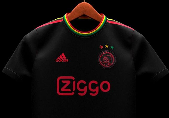 Ajax lança camisa comemorativa em homenagem a Bob Marley em seus 40 anos de morte