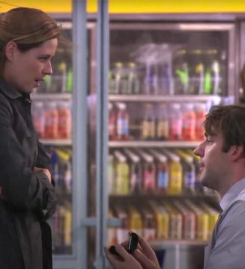 The Office: cena de pedido de casamento de Jim e Pam foi mais cara da série