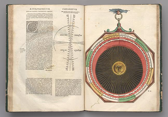 Um dos manuais de astronomia mais belos do Renascimento foi feito pelo astrônomo do imperador Carlos V