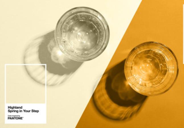 Pantone cria gráfico de cores de xixi para você saber se está hidratado o suficiente