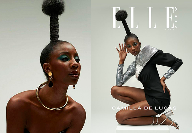 Camilla de Lucas surge exuberante em revista e avisa: 'Disseram que beleza negra não vendia'