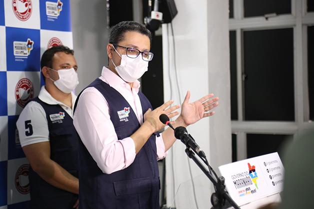 O secretário de saúde maranhense Carlos Lula