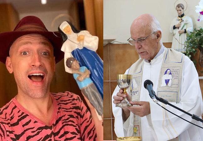 Padre Julio Lancellotti revela doação de R$ 1,5 mi de Paulo Gustavo para a caridade