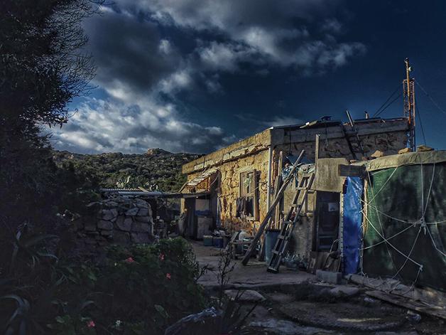 Casa de Morandi na Ilha de Budelli