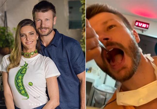 Rodrigo Hilbert e Fernanda Lima comem placenta da filha; prática ganha força no Brasil