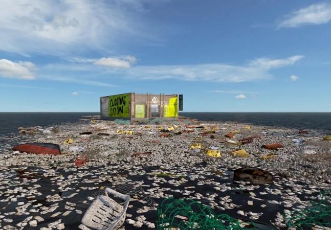 Converse abre loja virtual na famosa Ilha de Lixo do Pacífico; entenda