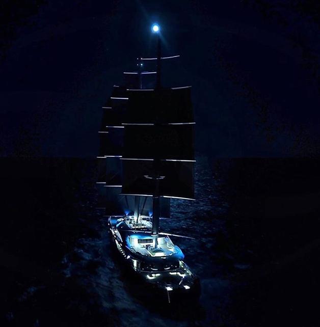 O iate Black Pearl
