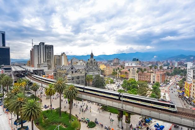 A cidade de Medellín