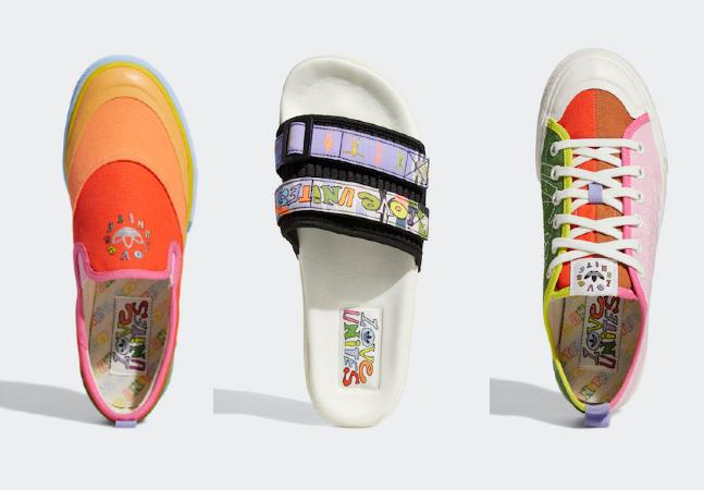 Adidas aposta em originalidade em tênis que celebram o Mês do Orugulho LGBT