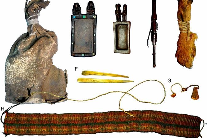 Medicinas usadas por povos ameríndios são descobertas em bolsa de mil anos de idade