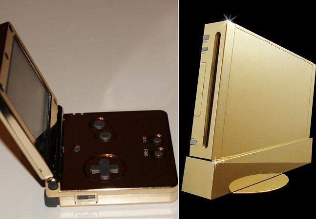 Videogames mais caros do mundo chamam atenção por design todo em ouro