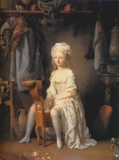 """Le Toilette Intime"", por Louis-Léopold Bouilly."