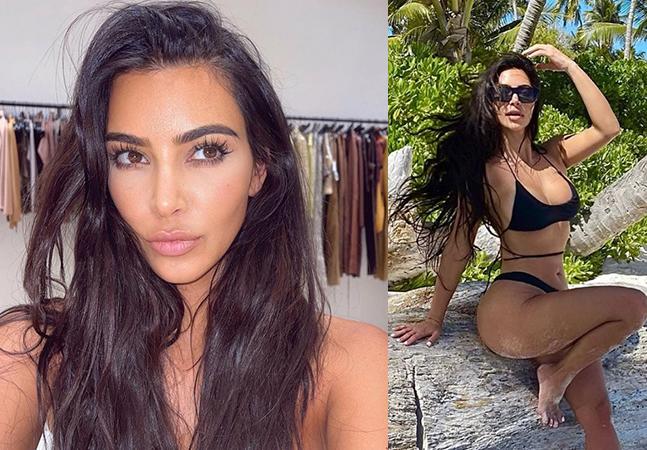 Kim Kardashian 'amputa' dedo em foto no Instagram com excesso de Photoshop