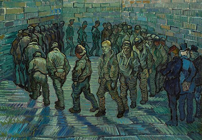Kubrick se inspirou em quadro de Van Gogh para cena de 'Laranja Mecânica'
