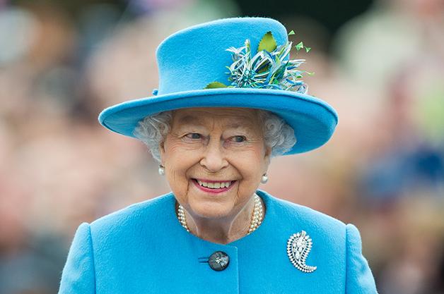A Rainha Elizabeth em 2016, então com 90 anos