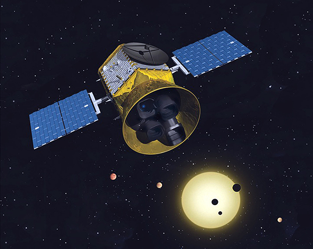 O satélite TESS