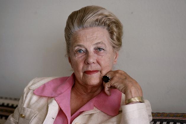 Alva Myrdal em 1977