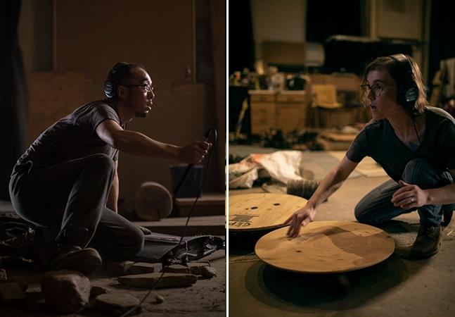 Gravações grandiosas de efeitos sonoros para filmes e séries feitas num pequeno estúdio canadense