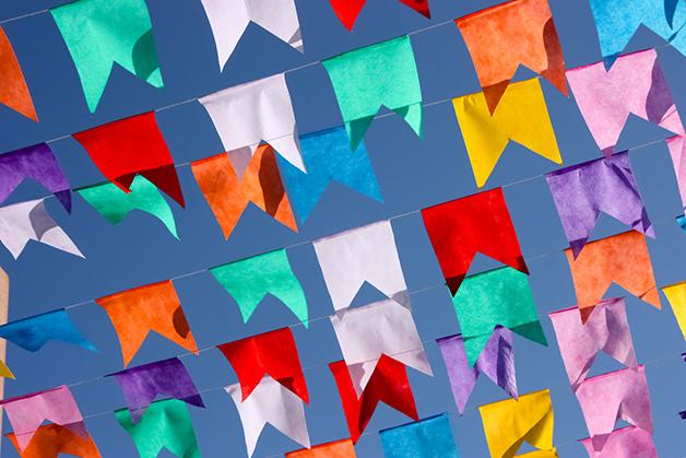 Bandeirinhas de São João