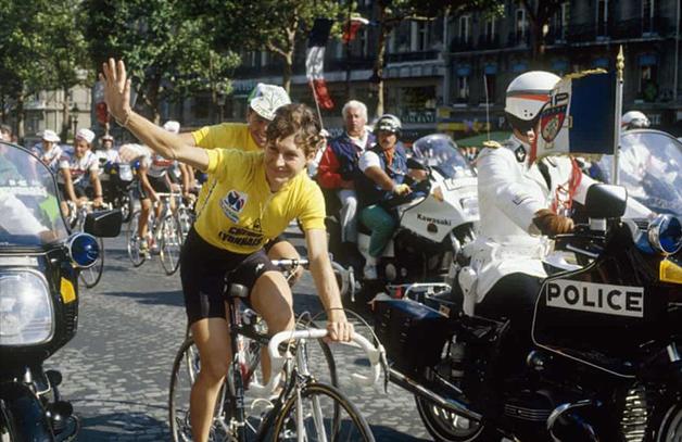Jeannie Longo, vencedora da corrida em 1987