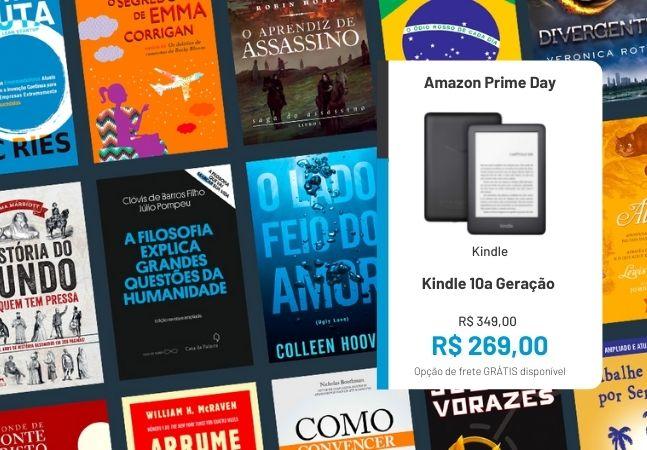 Kindle 10ª geração e Kindle Unlimited: ofertas do Prime Day para quem adora ler