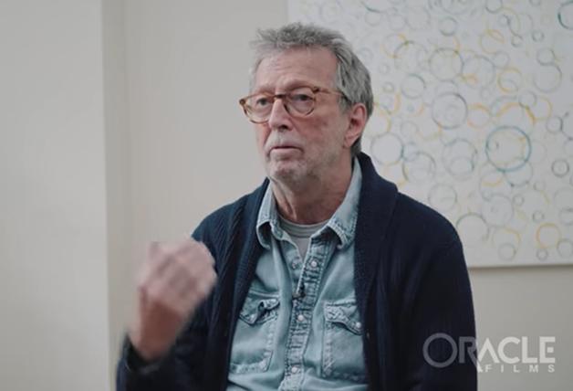 Eric Clapton em entrevista