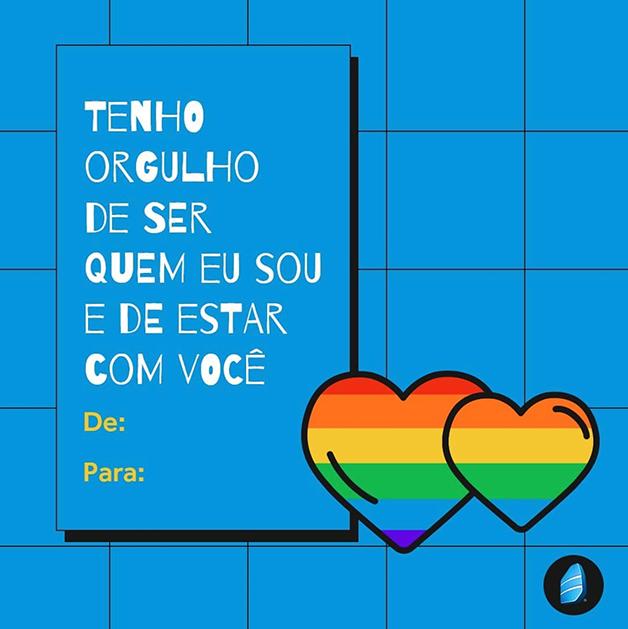 Campanha do orgulho LGBTQIA+ na Rosetta Stone