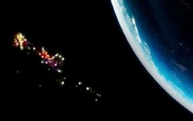 OVNIs identificado em registros espaciais recentes