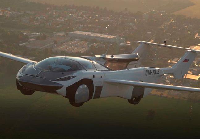 Carro voador completa voo de 35 minutos entre aeroportos; veja vídeo