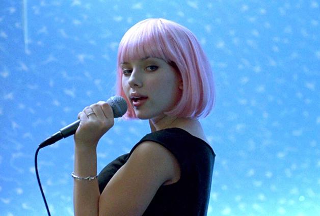 Scarlett Johansson em cena de Encontros e Desencontros