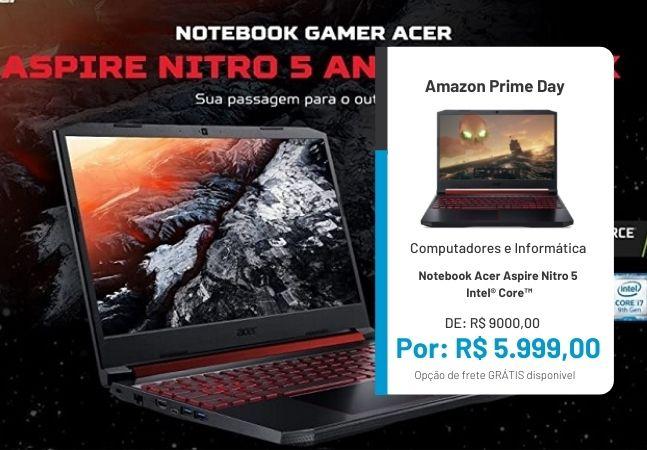 Notebook é no Prime Day: ofertas imperdíveis para quem quer comprar um computador