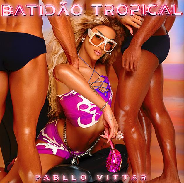 Capa do novo disco da Pabllo Vittar