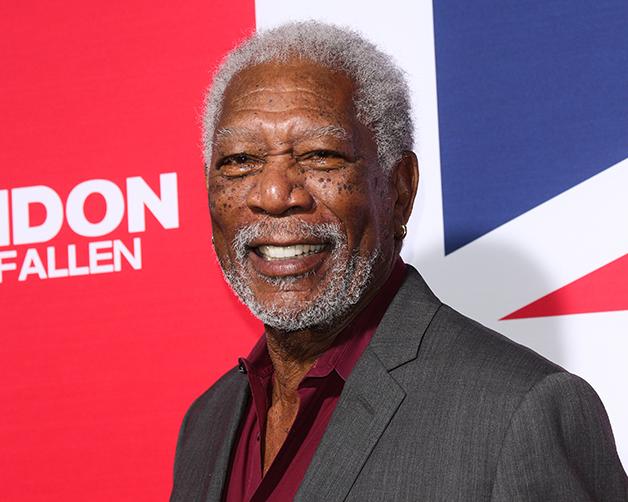 O grande ator estadunidense Morgan Freeman