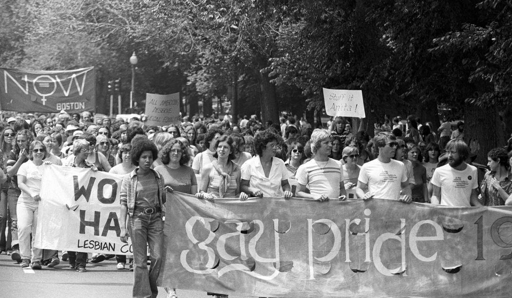 A primeira parada de Boston, também em 1970