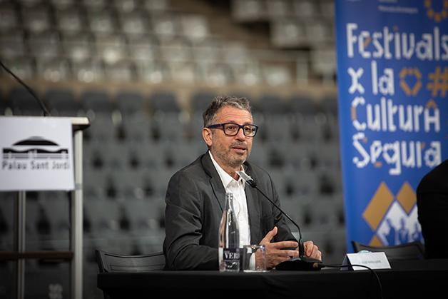 Josep Llibre, líder dos experimentos recentes com eventos em Barcelona