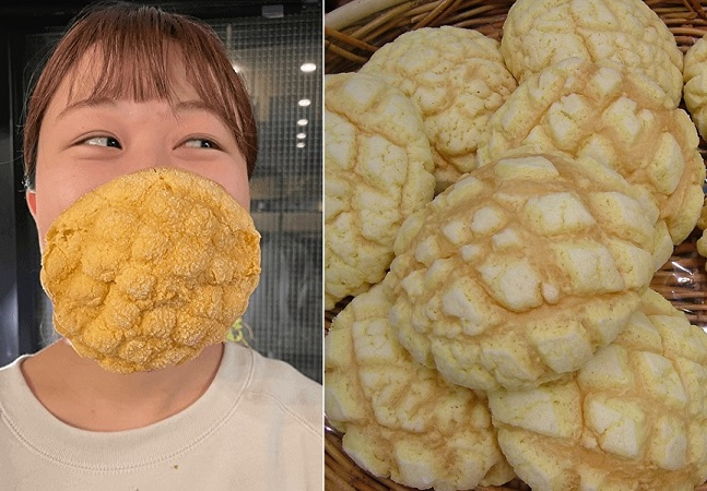 A máscara de pão japonesa que além de comestível protege igual (ou mais) que as outras