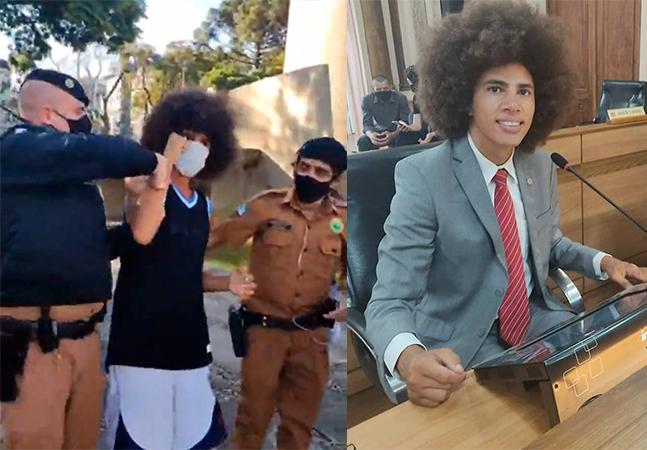 Vereador é preso pela polícia em Curitiba enquanto joga basquete e cita racismo