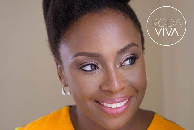 A autora nigeriana Chimamanda Ngozi Adichie