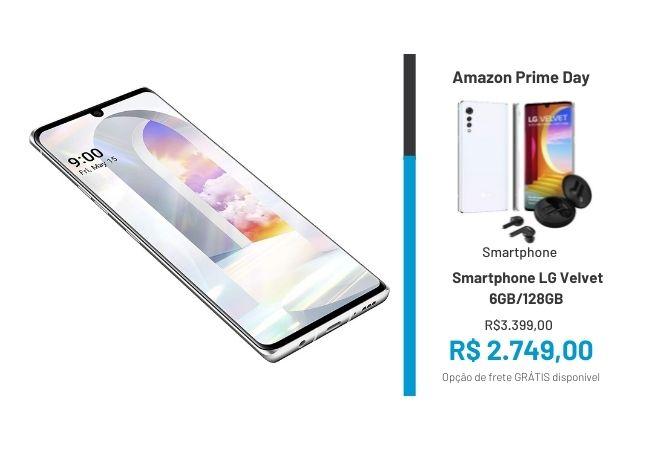 Smartphones em promoção no Prime Day