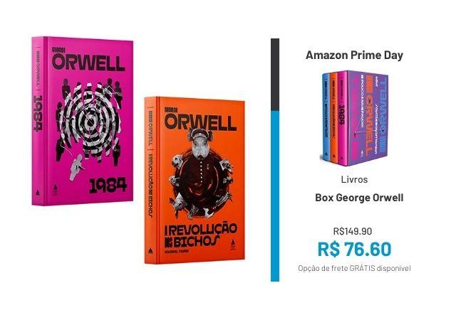 Box de livros: descubra as principais coleções em até 56% OFF no Prime Day