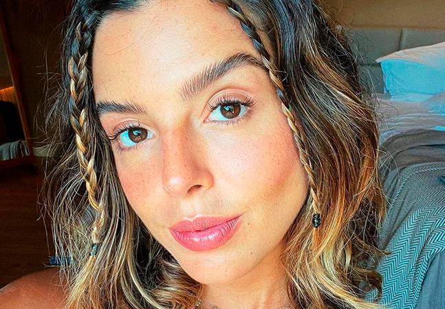 Giovanna Lancellotti é vacinada contra a covid mesmo não morando em Fernando de Noronha
