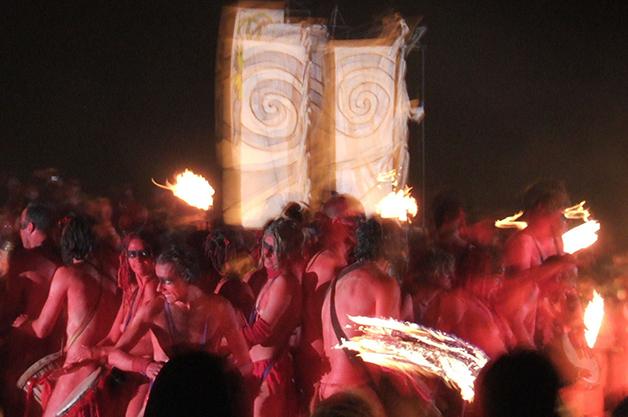 Versão da festa celta Beltane em 2006