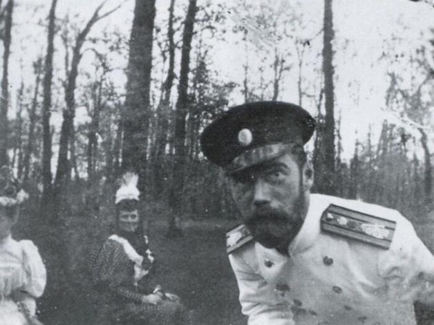 """""""Selfie"""" tirada pelo Czar Nicolau II, da Rússia, antes da revolução"""