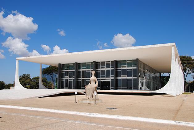 Prédio STF em Brasília