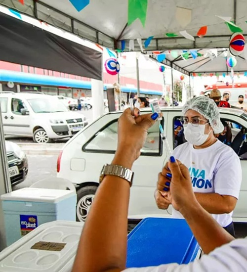 Covid: São Luis agenda vacinação de jovens 18 anos e oferece R$ 10 mil por 2ª dose