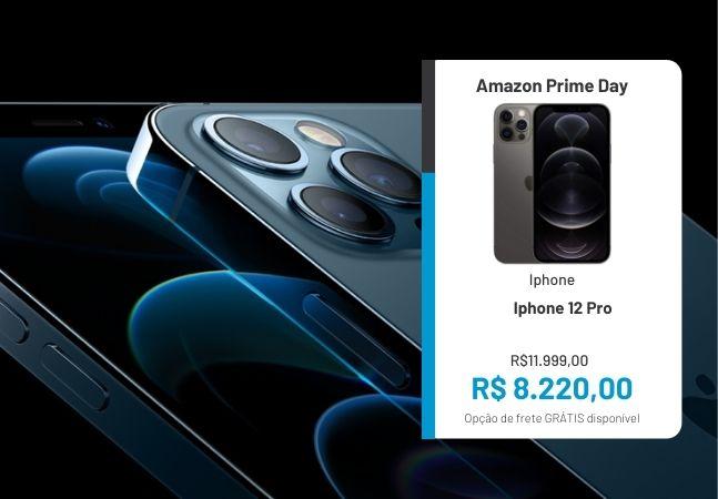 Alerta desconto! iPhone 12 Pro em promoção no Prime Day