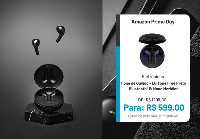Fone de ouvido e caixa de som: as melhores ofertas do Prime Day, da Amazon