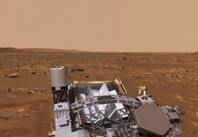 NASA divulga visão 360 imersiva de Marte que vai te teletransportar na hora