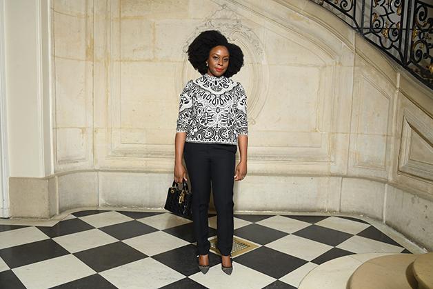A autora em Paris, em 2019 © Getty Images
